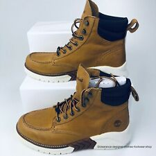 TIMBERLAND MCTR Moc Toe Boot Sneaker Boots MENS BROWN Wheat SHOES RRP£165 UK 8