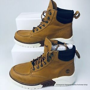 TIMBERLAND MCTR Moc Toe Boot Sneaker Boots MENS BROWN Wheat SHOES RRP£165 UK7.5