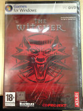 NEW*SEALED PC GAME THE WITCHER (PC) (DVD) BRAND NEW FACTORY SEALED