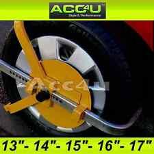 "Car Caravan Van Trailer High Security Heavy Duty 13"" - 17"" inch Wheel Clamp 9065"