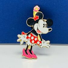 Walt Disney Trading pin button pinback wedding Mickey Minnie Mouse flower hat