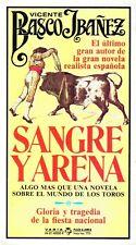 Sangre Y Arena De Vicente Blasco Ibanez