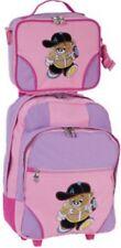 Kinder - Trolley - Set Bärchen pink - 2-teilig: Trolley + Umhänger