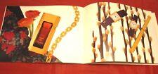 Catalogo Cartier Paris L'art d'etre unique 1995 Profumi Orologi Gioielli Penne