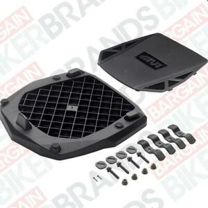 Givi E251 Universal Monokey top box plate with fittings - Official Givi stockist