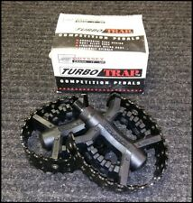 Vintage NOS ODYSSEY TURBO TRAP Competition BMX Pedals .