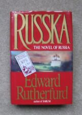 RUSSKA - by Edward Rutherfurd,  1ST Edition, Full Number line, 1991, HCDJ