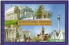 Nouvelle-Zélande 2002 Architectural héritage livret non montés excellent état