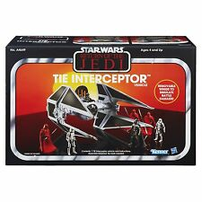 STAR WARS RETURN OF THE JEDI THE VINTAGE COLLECTION TIE INTERCEPTOR VEHICLE