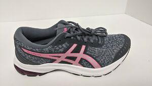 Asics Gel-Kumo Lyte Running Shoes, Grey/Pink, Women's 9 M