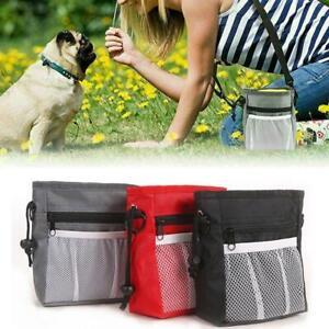 Dog Training Walking Pouch Waist Belt Snack Treat Storage Bags Poo Bag
