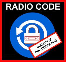 █►Radio Pin Code passend für Philips BMW BUSINESS RDS PH7850 PH7851 RADIOCODE