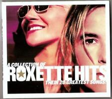 ROXETTE GREATEST HITS THEIR 20 GREATEST SONGS CD + DVD  PAL  IN DIGIPAK