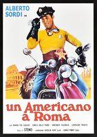Plakat Ein American A ROM Alberto Tauben Harley Davidson Motorrad Kino Film PP1
