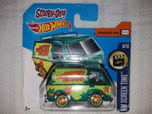 Hot Wheels Mystery Machine Super Treasure Hunt Damaged Card, Van is Mint!!!