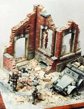 Verlinden 54mm (1/35) Ruined Mansion Large European Dwelling House Sections 108