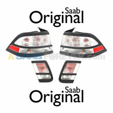 NEW SAAB 9-3 TAIL LIGHT ICE BLOCK SET ALL 4 LIGHTS - 08-11 - Sedan - GENUINE OEM