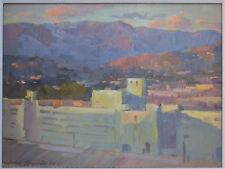 Listed California American Artist Ovanes Berberian Original Oil Painting