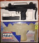 Vintage+LARAMI+Motorized+UZI+Water+Machine+Gun+W%2F+Original+Box