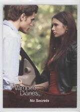 2011 Cryptozoic The Vampire Diaries Season 1 #24 No Secrets Non-Sports Card o3e
