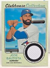 Jose Bautista 2017 Topps Heritage High Number Clubhouse Collection GU Jersey