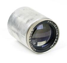 Projector Lens Voigtlander Projektos 2.5/80mm f/2.5 80mm 1:2.5