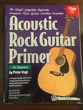 Acoustic Rock Guitar Primer Book and Dvd Watch and Learn