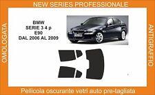 pellicola oscurante vetri bmw serie 3 berlina e 90 dal 2006-2009 kit posteriore