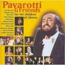 PAVAROTTI...- PAVAROTTI & FRIENDS FOR THE CHILDREN OF LIBERIA  CD NEW!