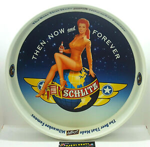 SCHLITZ AIR FORCE Beer Tray -The Beer That Made Milwaukee Famous ORIGINAL  NICE