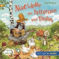 SVEN NORDQVIST - NEUE LIEDER VON PETTERSSON UND FINDUS - CD - NEU!!