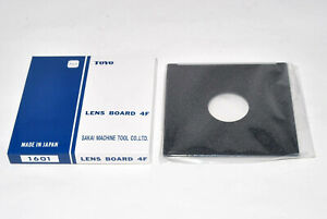 New Toyo Field 45A 4x5 Copal & Compur #0 lens board 110x110mm 1601 from Japan