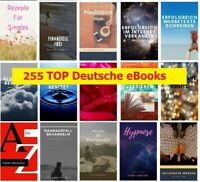 255 Deutsche PLR / MRR eBooks im Mega Paket - 90 PLR + 165 MRR