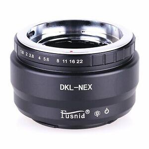 Voigtlander Retina Deckel Lens to Sony NEX E Mount A9 A7II A7R A6300 A5000