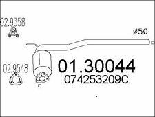 SILENCIEUX AVANT POUR VW TRANSPORTER IV CAMIONNETTE 2.4 D