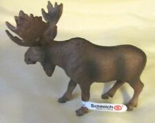 New Schleich Retired Moose 14310 with tag