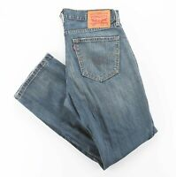 Vintage LEVI'S 559 Blue Denim Relaxed Straight Jeans Mens W32 L30