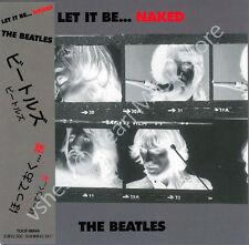 BEATLES LET IT BE NAKED CD MINI LP OBI + bonus track Harrison Lennon McCartney