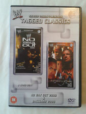 WWE Tagged Classics No Way Out 2000/Backlash 2000 DVD, 2009, 2-Discs UK REGION 2