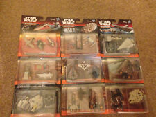 Star Wars The Force Awakens Micro Machines 3 Pack Sets Mini Ships Vehicles NEW