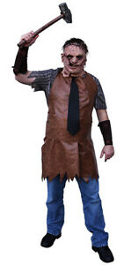 Trick or Treat Studios TEXAS CHAINSAW MASSACRE Remake Leatherface Costume NEW