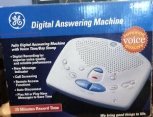 GE General Electric Telephone Answering Machine 2-9868 NIB Old Stock Digital