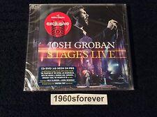 Josh Groban – Stages Live 2016 CD/DVD [TARGET EXCLUSIVE +3 BONUS SONGS] NEW