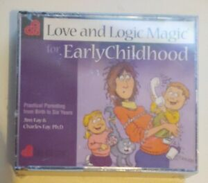 Love and Logic Magic for Early Childhood : Practical Parenting from Birth CD New