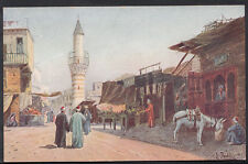 Egypt Postcard - Artist View of Cairo  N385