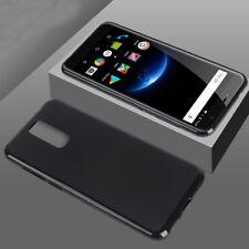 For Cubot Nova R11J3 Pro Case, Silicone Ultra Soft Gel Phone Cover-Matte Black