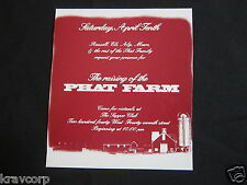 PHAT FARM—1993 INVITATION TO STORE OPENING PARTY