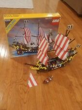 Vintage LEGO Pirates Black Seas Barracuda (6285) Complete w/box