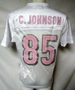 Cincinnati Bengals Women M Reebok Screened Chad Johnson #85 Jersey A1 2731