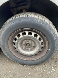 VW CADDY 2009 WHEEL AND TYRE 195/65/15